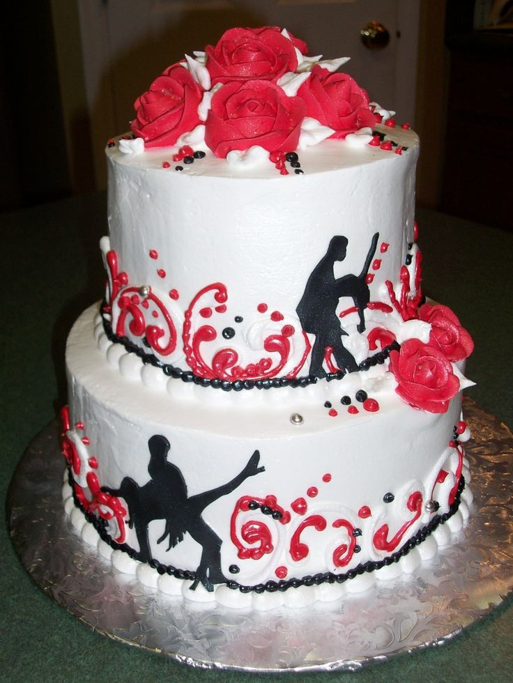 Best ideas about Dancing Birthday Cake . Save or Pin 10 best 40th cake images on Pinterest Now.