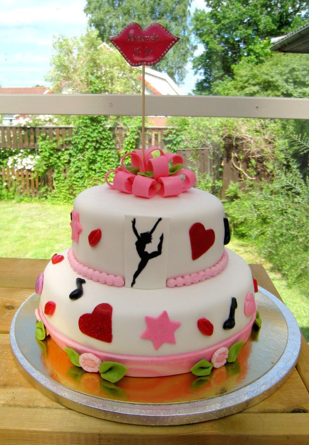 Best ideas about Dancing Birthday Cake . Save or Pin Dance theme cake Party Ideas Now.