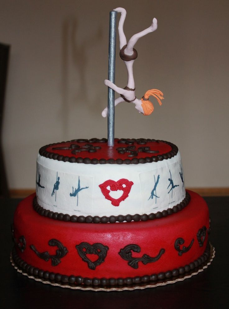 Best ideas about Dancing Birthday Cake . Save or Pin Cute pole dance cake Pole Dance Cake Pinterest Now.