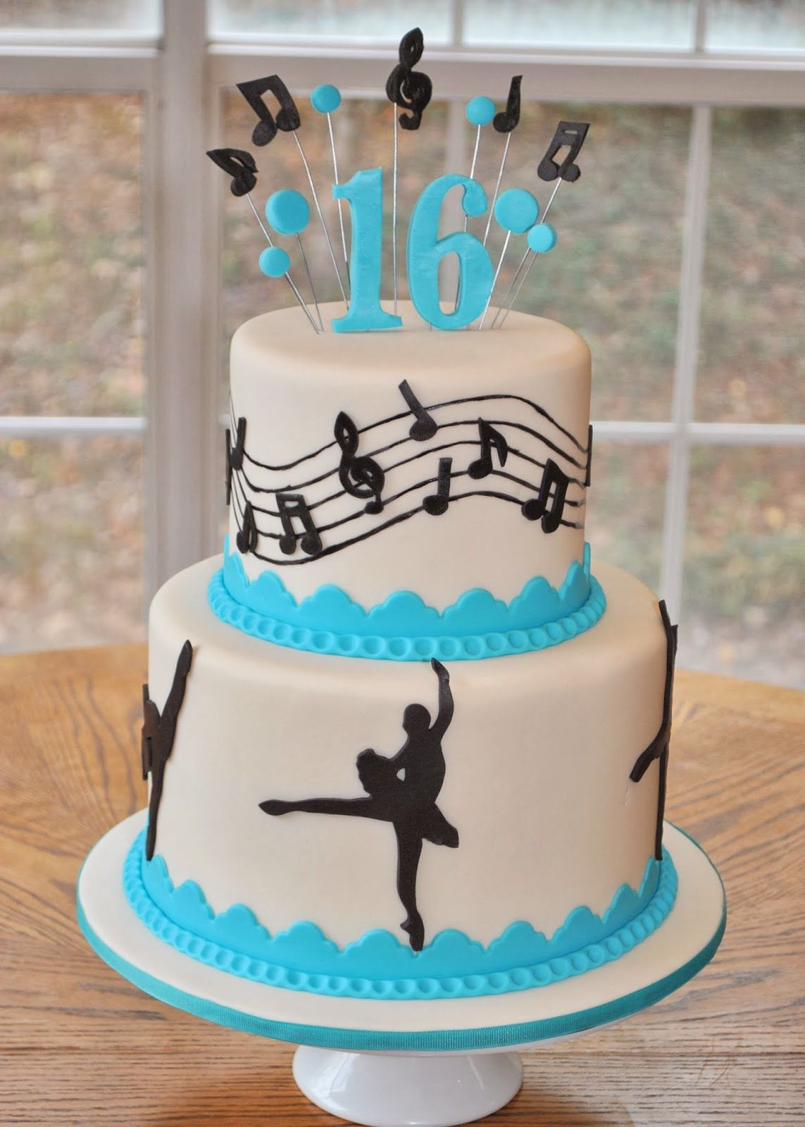 Best ideas about Dancing Birthday Cake . Save or Pin Hope s Sweet Cakes Dance Cake Now.