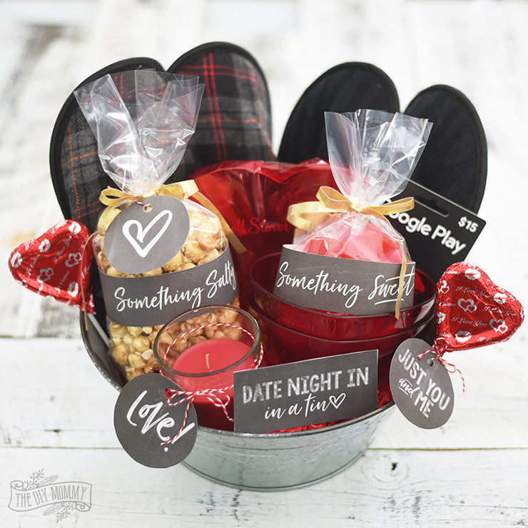 Best ideas about Date Night Gift Ideas . Save or Pin Valentine s Day Date Night In Gift Basket Idea 24 More Now.