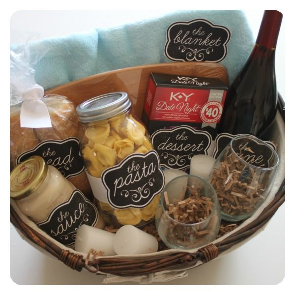 Best ideas about Date Night Gift Ideas . Save or Pin Date night t basket Ooh La La Pinterest Now.