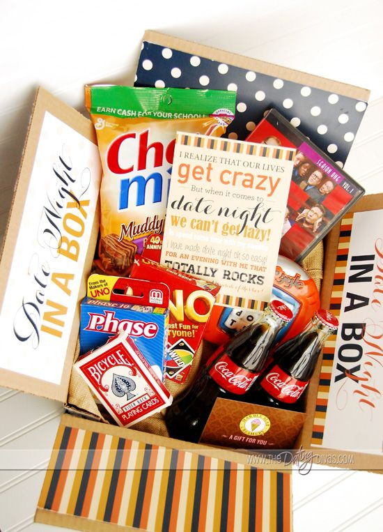 Best ideas about Date Night Gift Ideas . Save or Pin Date Night in a Box Now.