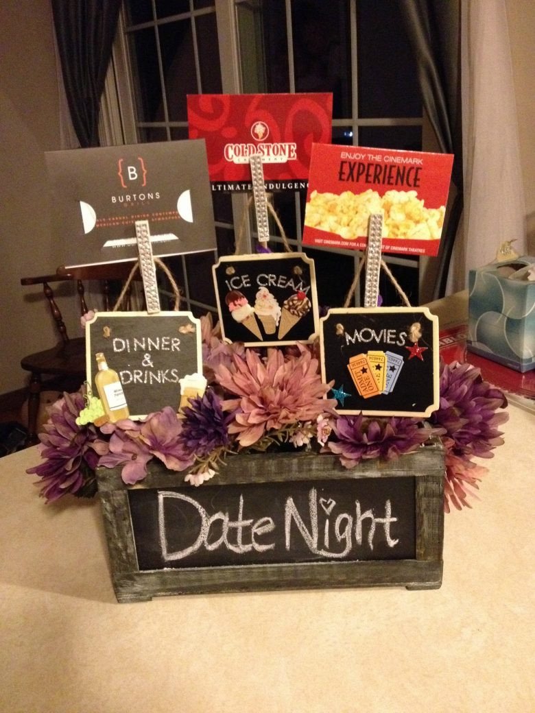 Best ideas about Date Night Gift Ideas . Save or Pin Themed t basket roundup A girl and a glue gun Now.