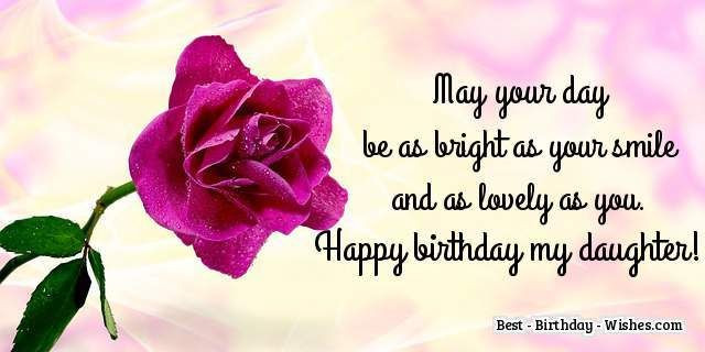 Best ideas about Daughter Birthday Wishes . Save or Pin 35 Birthday Wishes for Daughters and Sons Birthday Now.