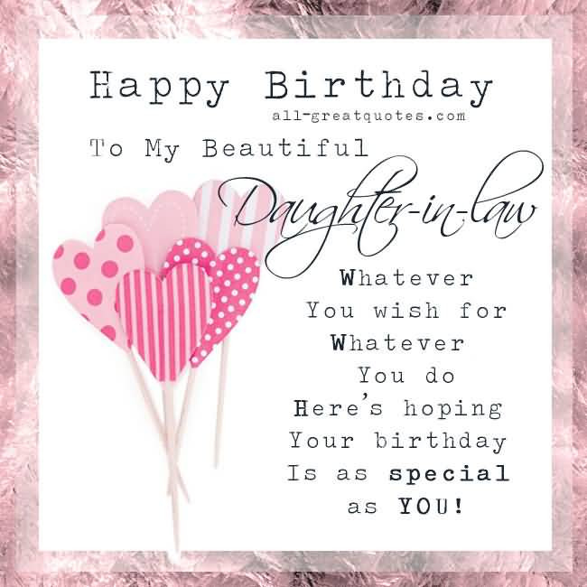 Best ideas about Daughter In Law Birthday Wishes . Save or Pin Birthday Wishes for Daughter In Law Nicewishes Now.