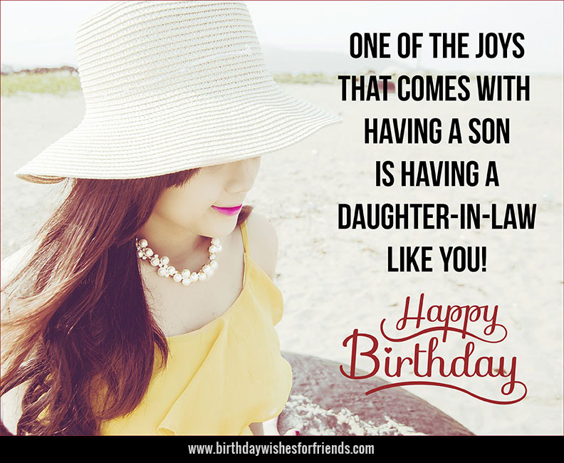 Best ideas about Daughter In Law Birthday Wishes . Save or Pin daughter Archives Birthday Wishes for Friends & Family Now.