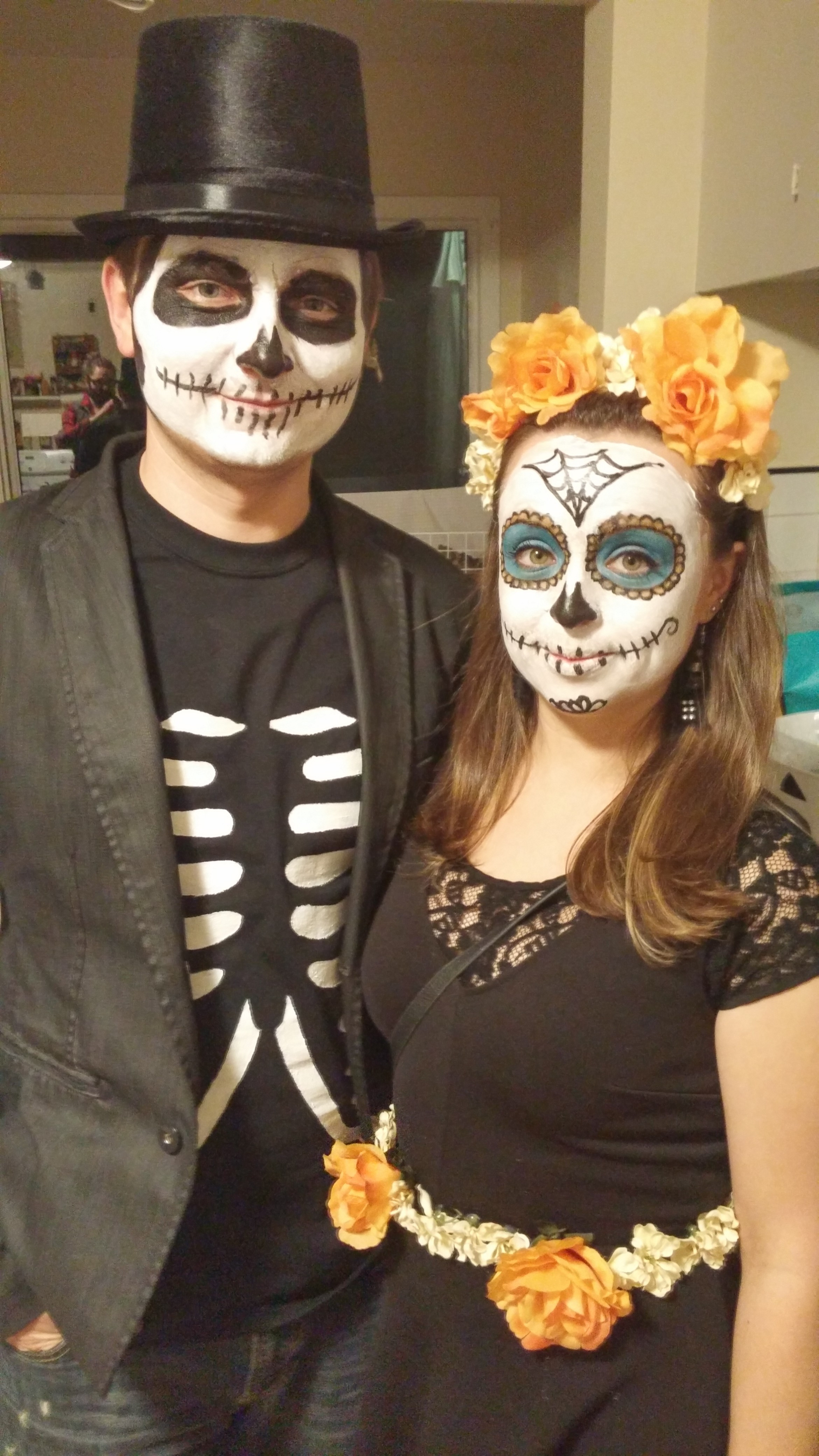 Best ideas about Day Of The Dead DIY Costume . Save or Pin Couples Costume DIY – Day of the Dead – Julie Erin Designs Now.