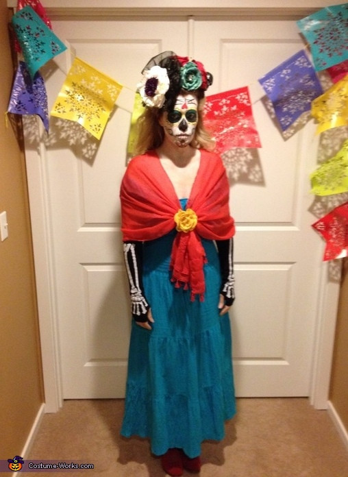 Best ideas about Day Of The Dead DIY Costume . Save or Pin Easy DIY Day of the Dead Costume Now.