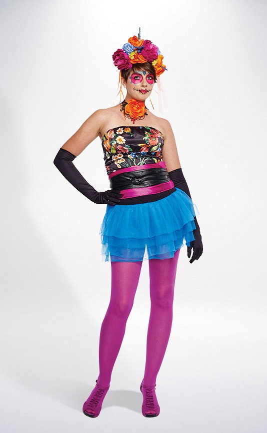 Best ideas about Day Of The Dead DIY Costume . Save or Pin DIY Day of the Dead Now.
