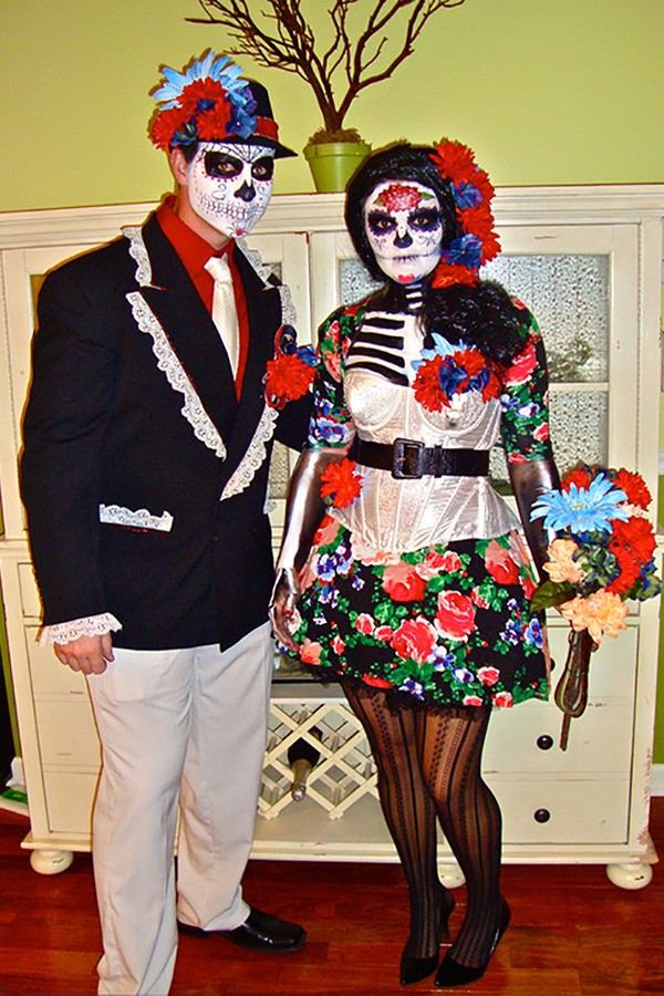 Best ideas about Day Of The Dead DIY Costume . Save or Pin Goodwill DIY Halloween Costume Ideas Dia de los Now.