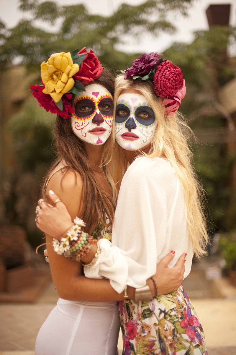 Best ideas about Day Of The Dead DIY Costume . Save or Pin Seven best sugar skull face paints Halloween Now.