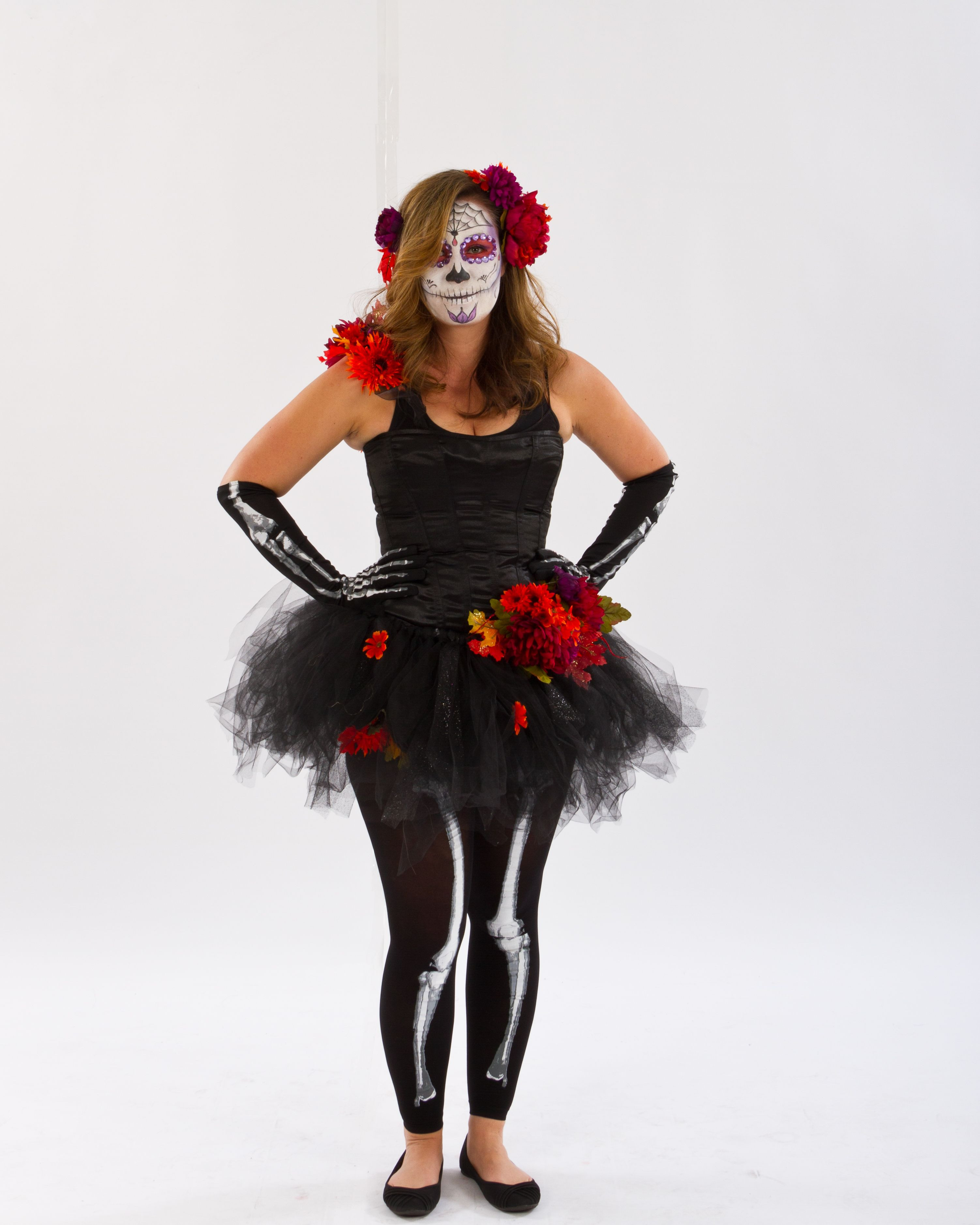 Best ideas about Day Of The Dead DIY Costume . Save or Pin To for DIY Day of the Dead costume starting with Now.