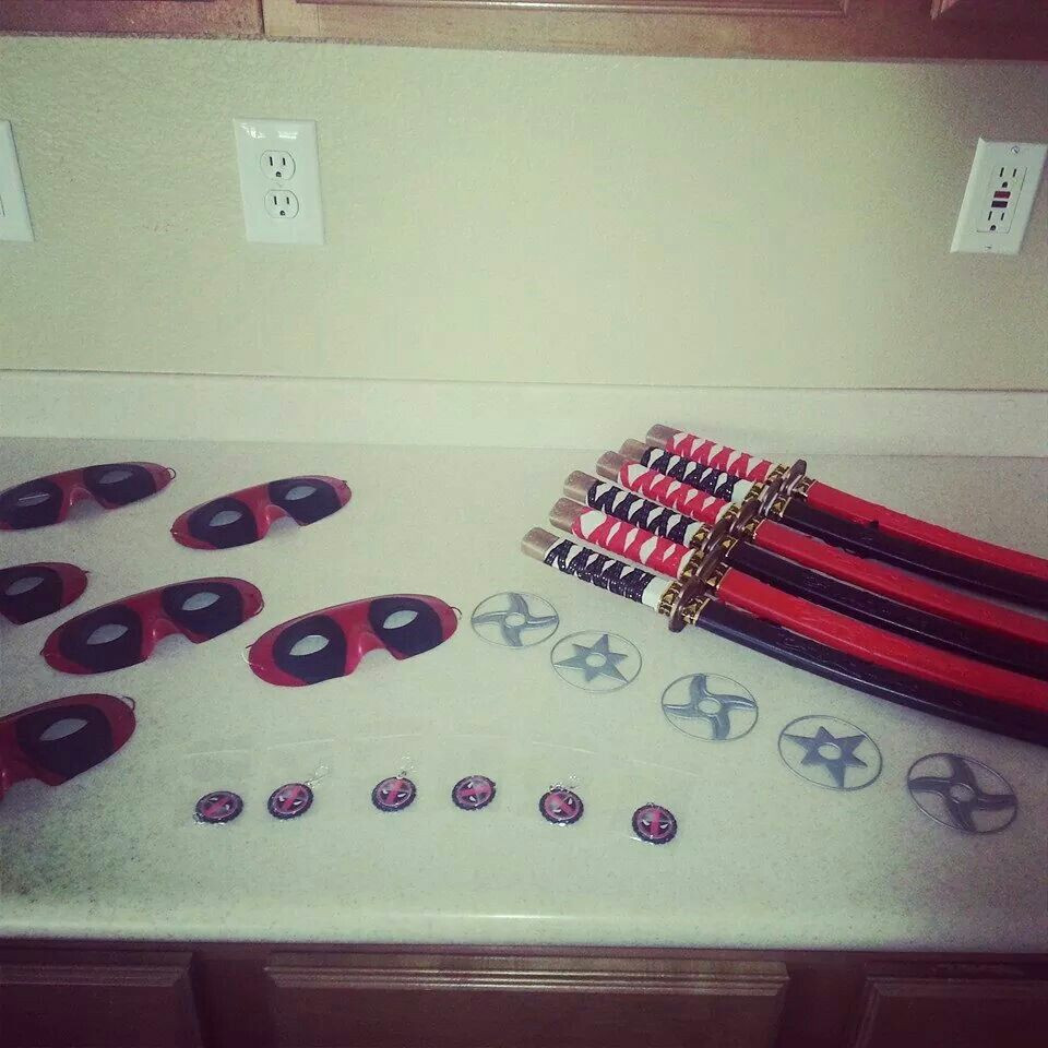 Best ideas about Deadpool Birthday Decorations . Save or Pin Deadpool party for lion king mrs er Now.