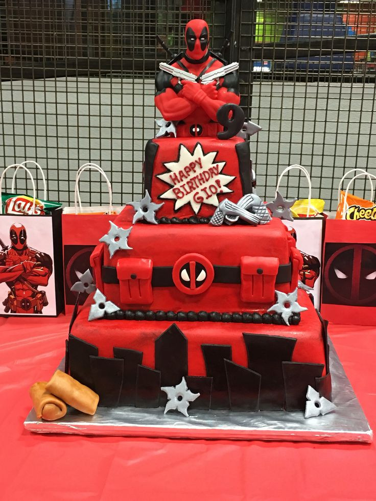 Best ideas about Deadpool Birthday Decorations . Save or Pin Best 25 Deadpool cake ideas on Pinterest Now.