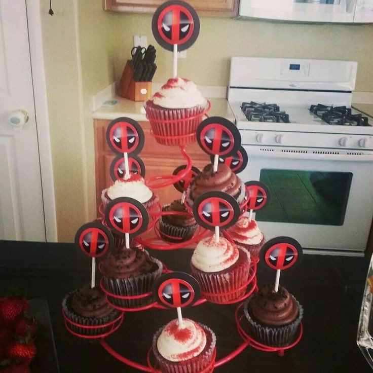 Best ideas about Deadpool Birthday Decorations . Save or Pin 17 Best images about deadpool party on Pinterest Now.