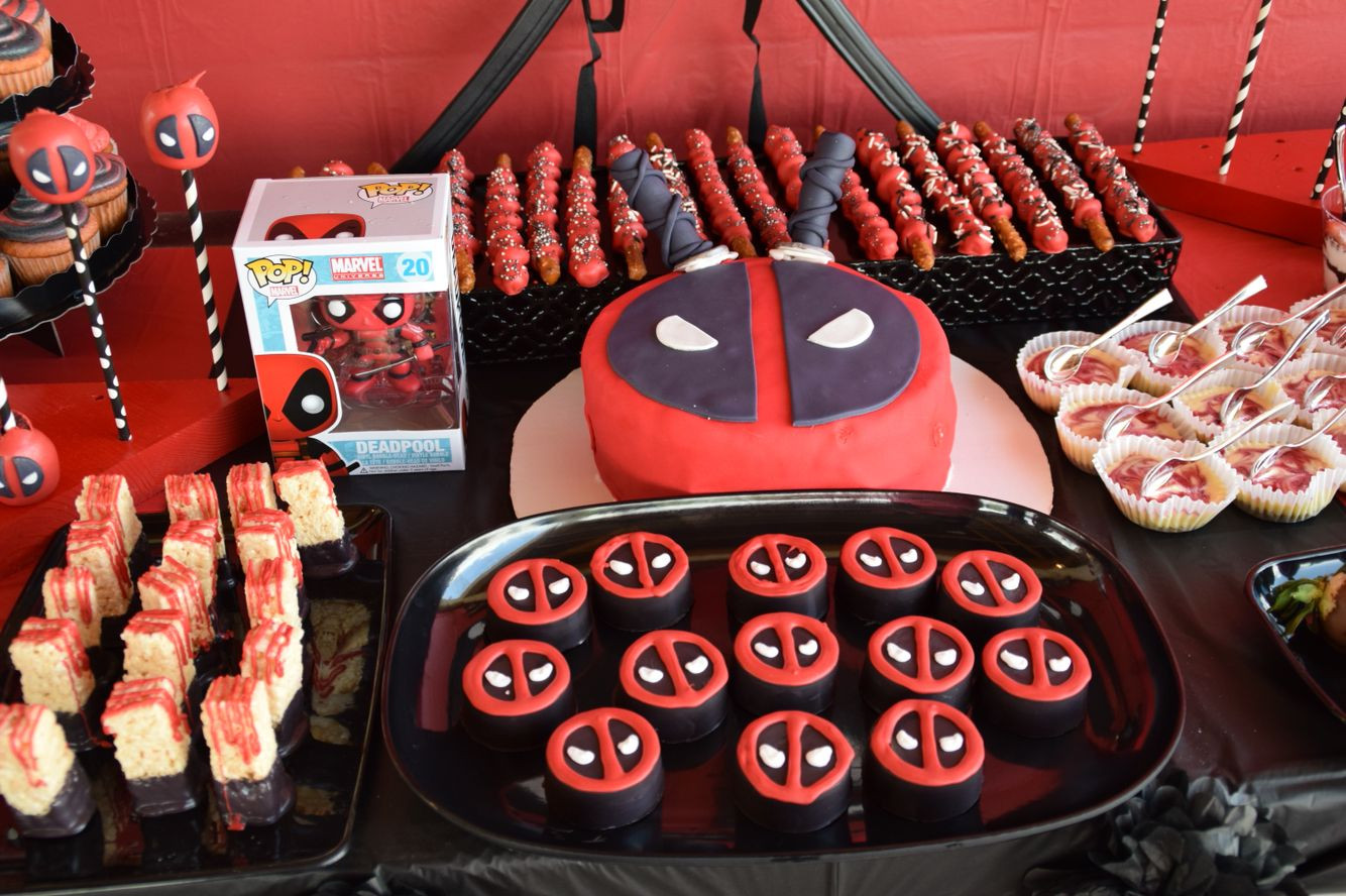 Best ideas about Deadpool Birthday Decorations . Save or Pin FREE Deadpool 2 Birthday Invitation Template Now.