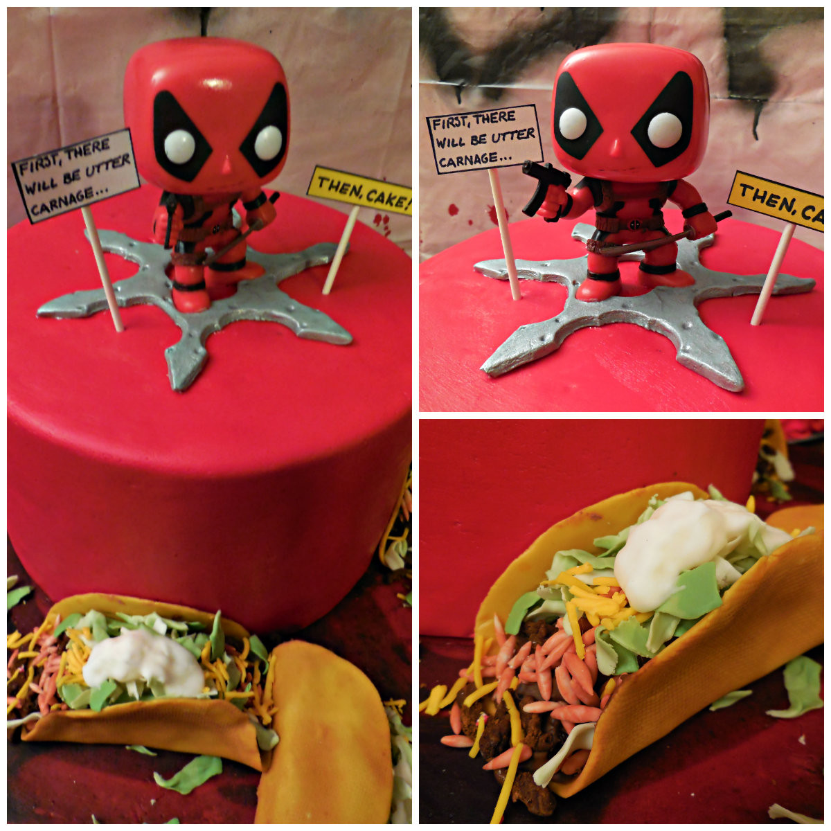 Best ideas about Deadpool Birthday Decorations . Save or Pin Bella C Parties Deadpool Movie Party 2016 Now.