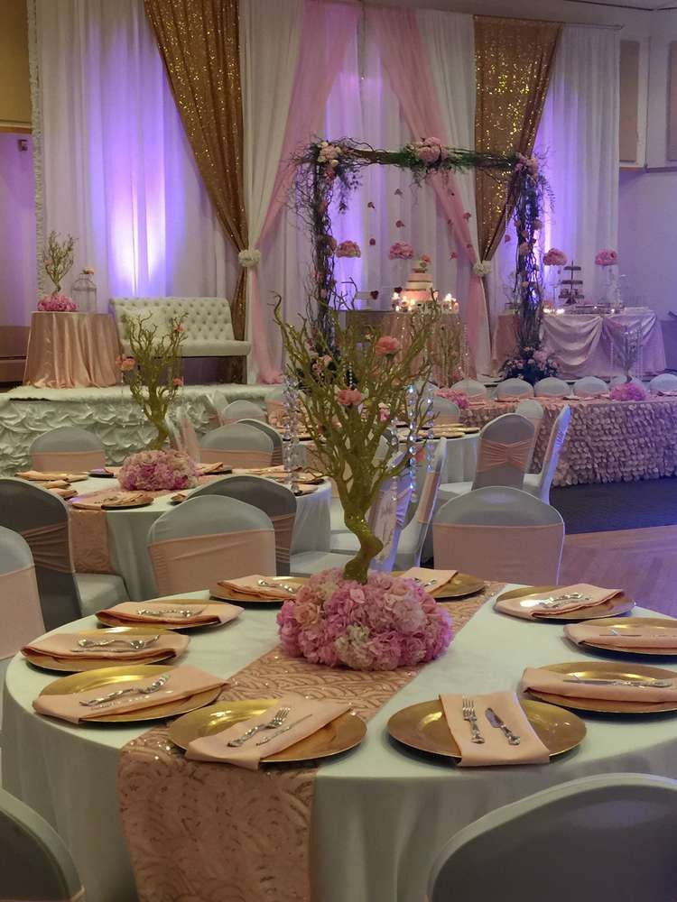 Best ideas about Decorations For 15 Birthday Party . Save or Pin In the Night Garden Quinceañera Party Ideas in 2019 Now.