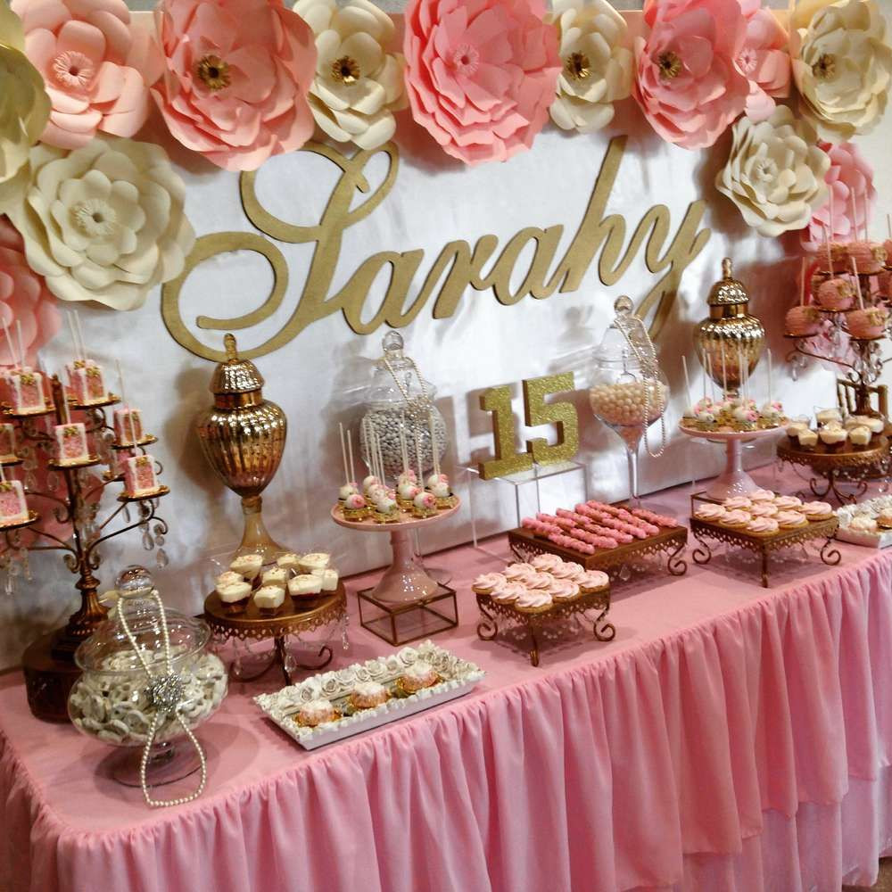 Best ideas about Decorations For 15 Birthday Party . Save or Pin Quinceañera Quinceañera Party Ideas Now.