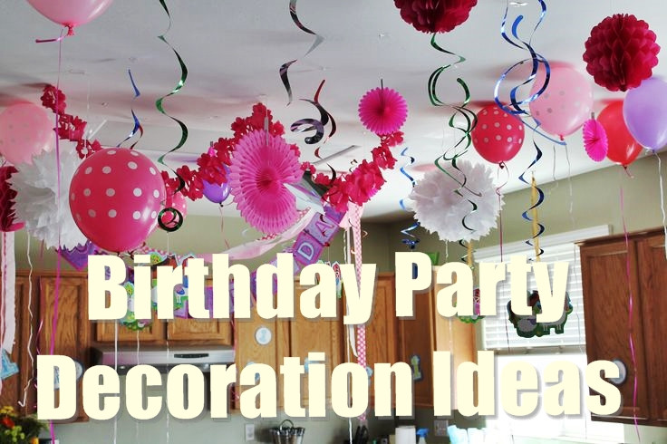 Best ideas about Decorations For 15 Birthday Party . Save or Pin 15 Best Birthday Party Decoration Ideas For A Perfect Party Now.