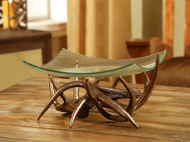 Best ideas about Deer Kitchen Decor . Save or Pin Antler fruit bowl Antler kitchen Decor Pinterest Now.