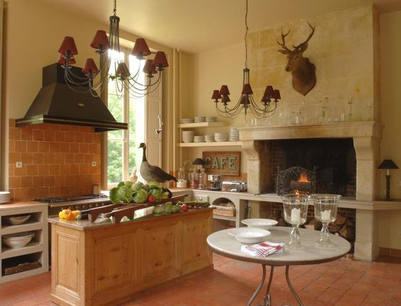 Best ideas about Deer Kitchen Decor . Save or Pin Eye For Design Decorating With Deer Mounts For A French Now.