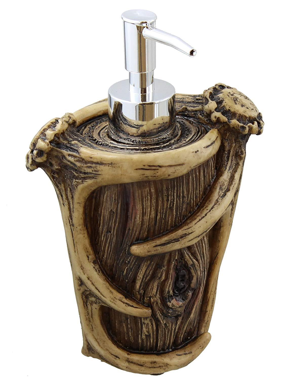 Best ideas about Deer Kitchen Decor . Save or Pin Soap Pump Antler Deer Rustic Decor Bathroom Kitchen Sink Now.