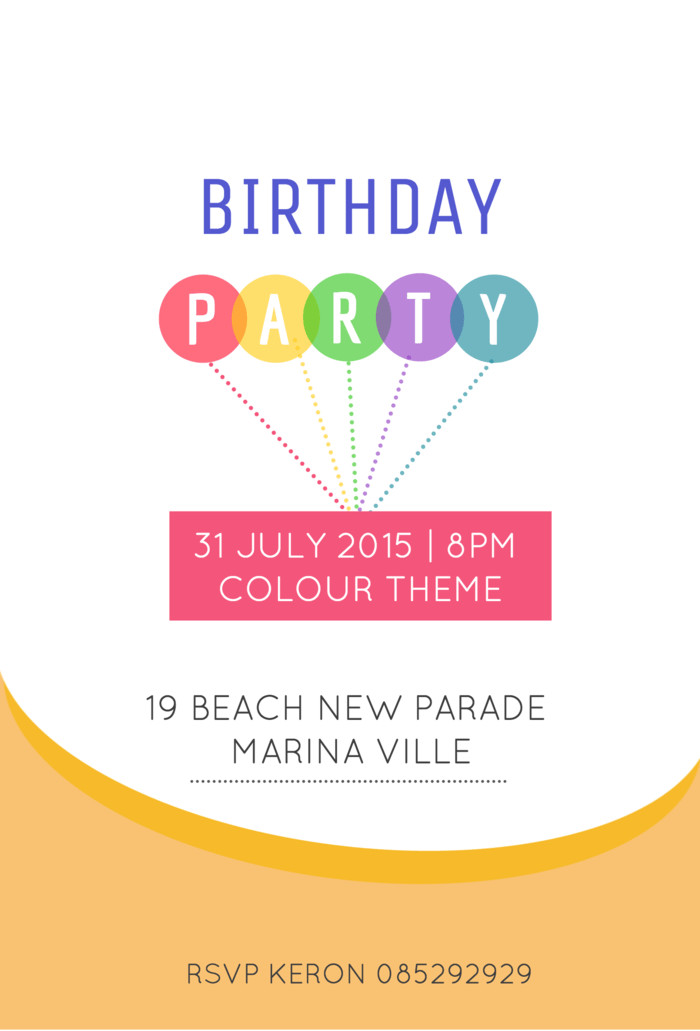 Best ideas about Design Birthday Invitations . Save or Pin 10 Creative Birthday Invitation Card Design Tips and Now.