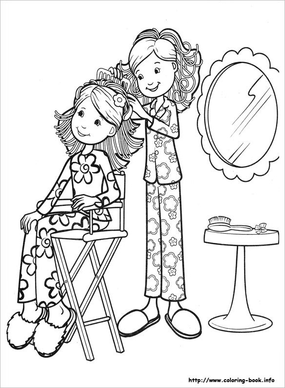 Best ideas about Design Coloring Pages For Girls . Save or Pin Coloring Pages For Girls – 21 Free Printable Word PDF Now.