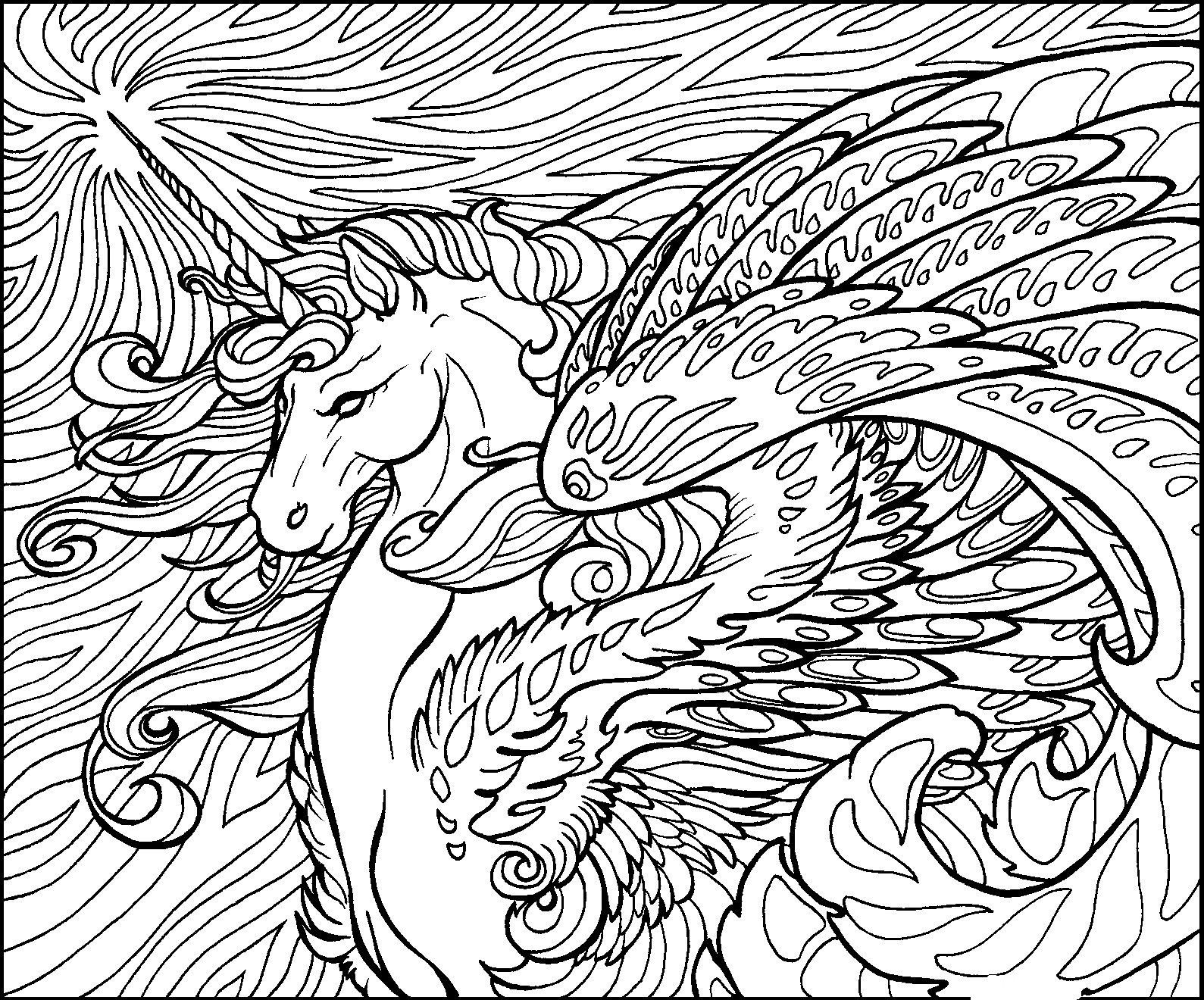 Best ideas about Detailed Coloring Pages For Adults . Save or Pin Detailed Coloring Pages For Adults Coloring Home Now.