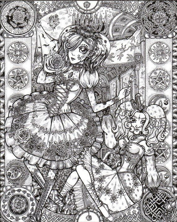 Best ideas about Detailed Coloring Pages For Adults . Save or Pin Detailed Coloring Pages for Adults Now.