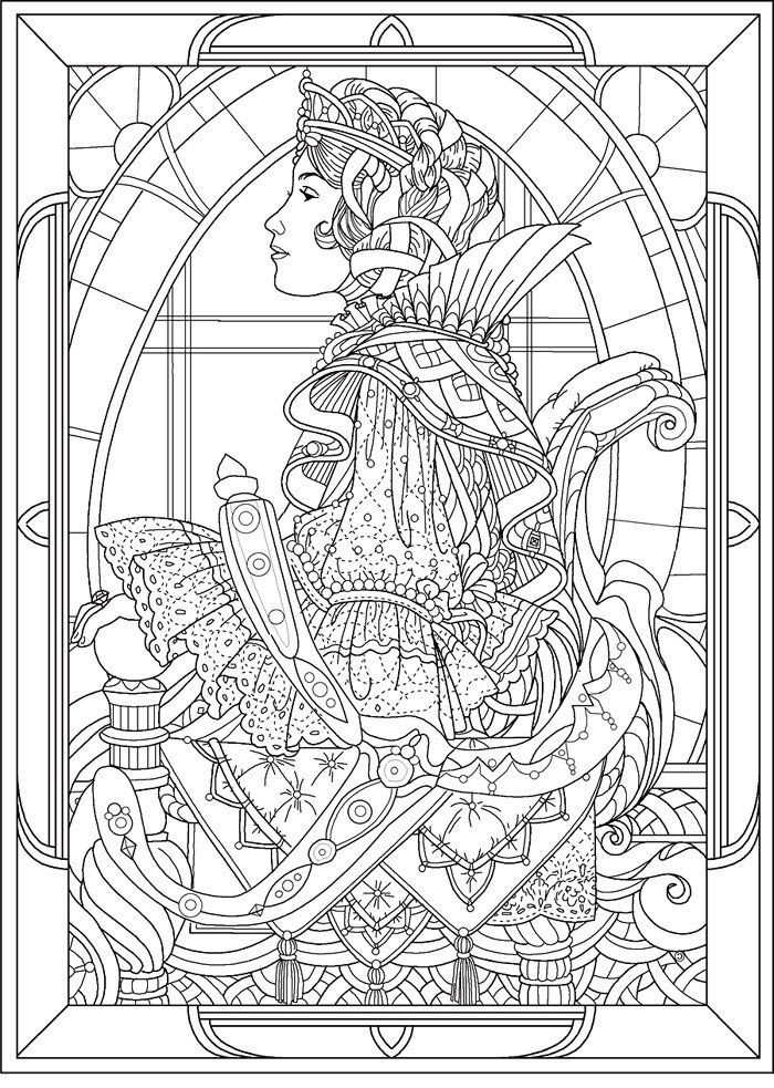 Best ideas about Detailed Coloring Pages For Adults . Save or Pin PRINCESS COLORING PAGES King Arthur Clipart Now.