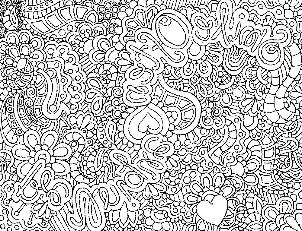 Best ideas about Detailed Coloring Pages For Adults . Save or Pin Detailed Animal Coloring Pages Bestofcoloring Now.