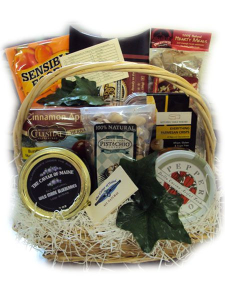 Best ideas about Diabetic Gift Basket Ideas . Save or Pin Diabetic Healthy Christmas Gift Basket Now.