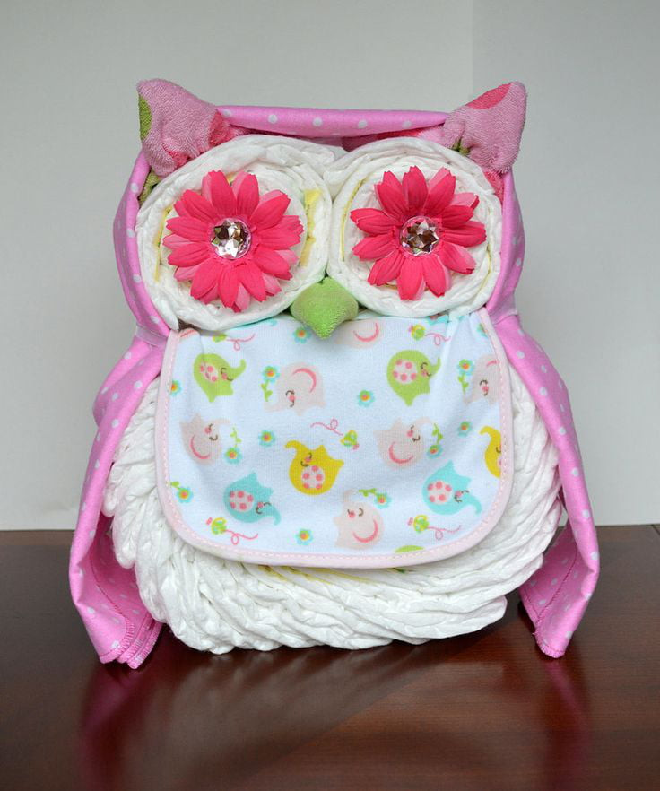 Best ideas about Diaper Ideas For Baby Shower Gift . Save or Pin 14 Baby Shower Diaper Gifts & Decorations Care Now.
