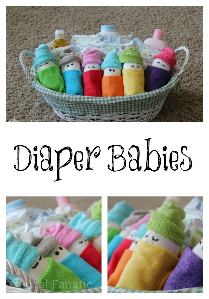Best ideas about Diaper Ideas For Baby Shower Gift . Save or Pin How To Make Diaper Babies Easy Baby Shower Gift Idea Now.