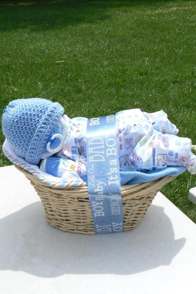 Best ideas about Diaper Ideas For Baby Shower Gift . Save or Pin Diaper baby basket Baby Ideas Pinterest Now.