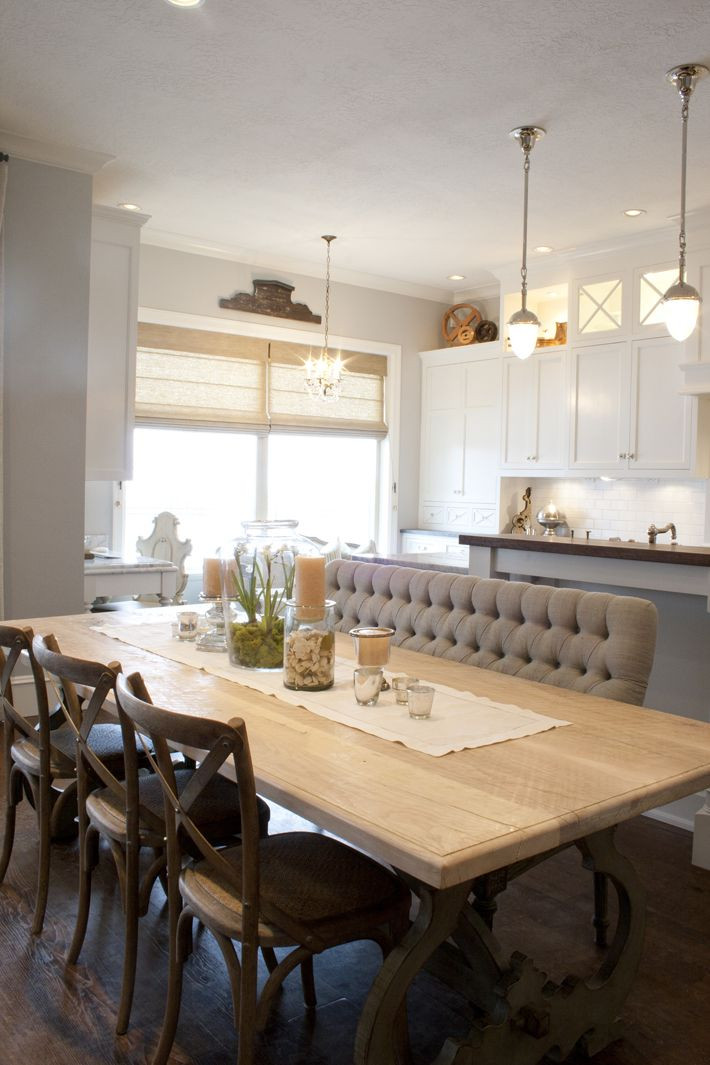 Best ideas about Dining Room Bench . Save or Pin Best 25 Upholstered dining bench ideas on Pinterest Now.