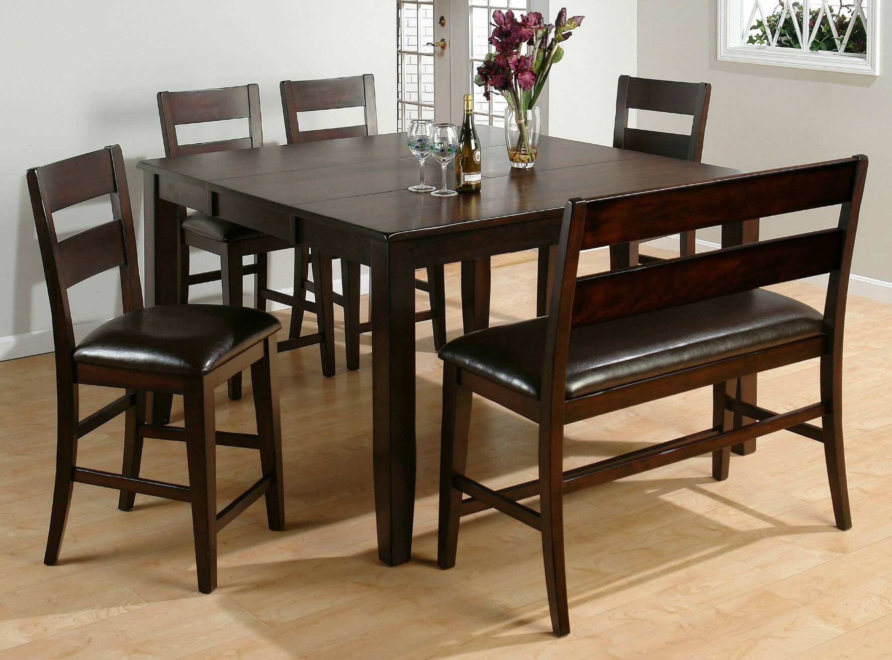 Best ideas about Dining Room Bench . Save or Pin 26 Big & Small Dining Room Sets with Bench Seating Now.