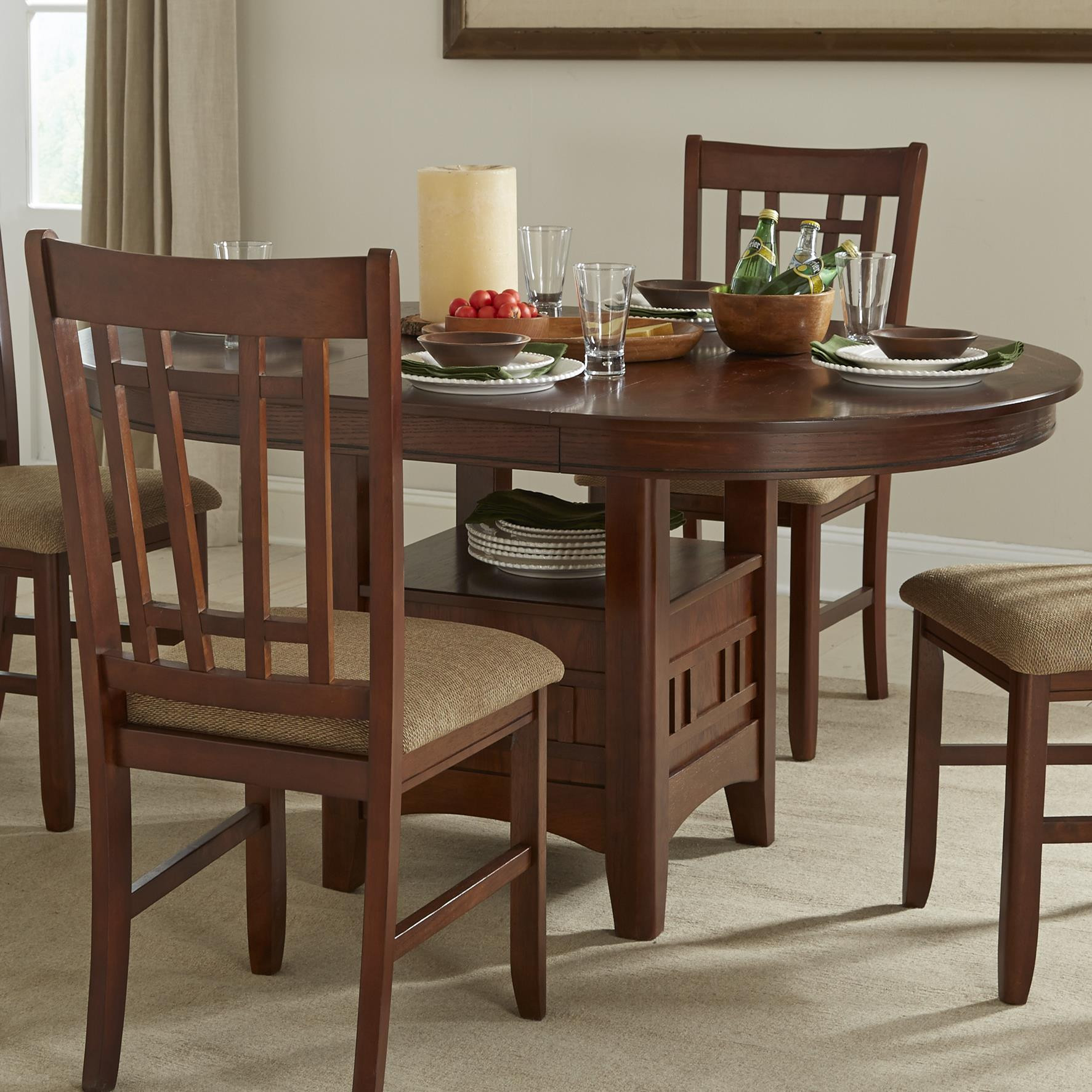 Best ideas about Dining Table With Storage . Save or Pin Intercon Mission Casuals Oval Dining Table with Storage Now.