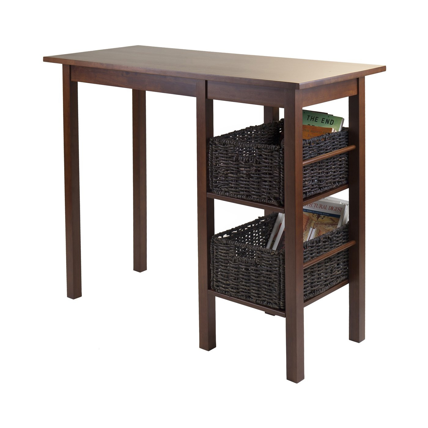 Best ideas about Dining Table With Storage . Save or Pin Winsome Wood Egan Storage Breakfast Table Now.