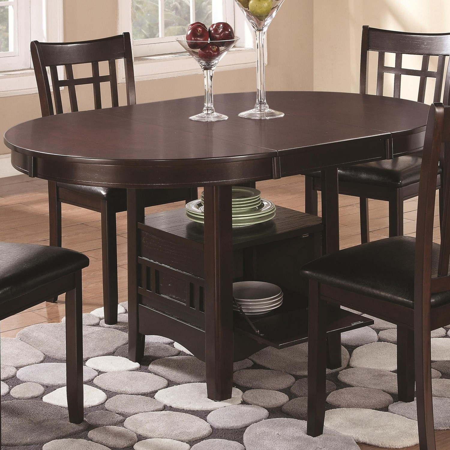 Best ideas about Dining Table With Storage . Save or Pin Coaster Fine Furniture Lavon Dining Table with Storage in Now.