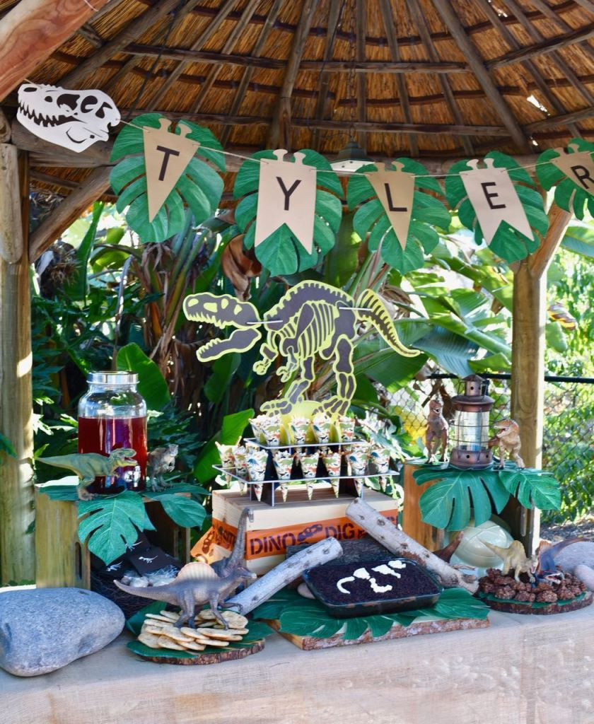 Best ideas about Dinosaur Birthday Party Decorations . Save or Pin Dinosaur Party Dinosaur Dig That Will Make You Roar Now.