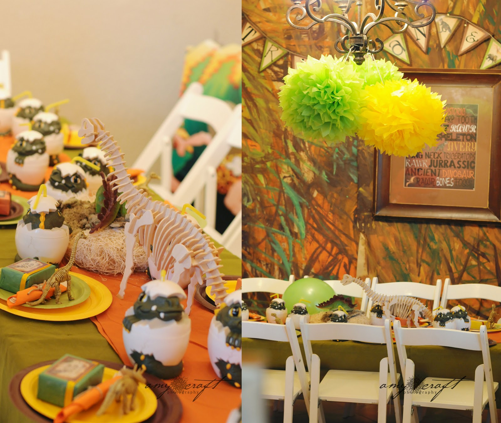 Best ideas about Dinosaur Birthday Party Decorations . Save or Pin Kara s Party Ideas Rustic Dinosaur Twins Birthday Party Now.