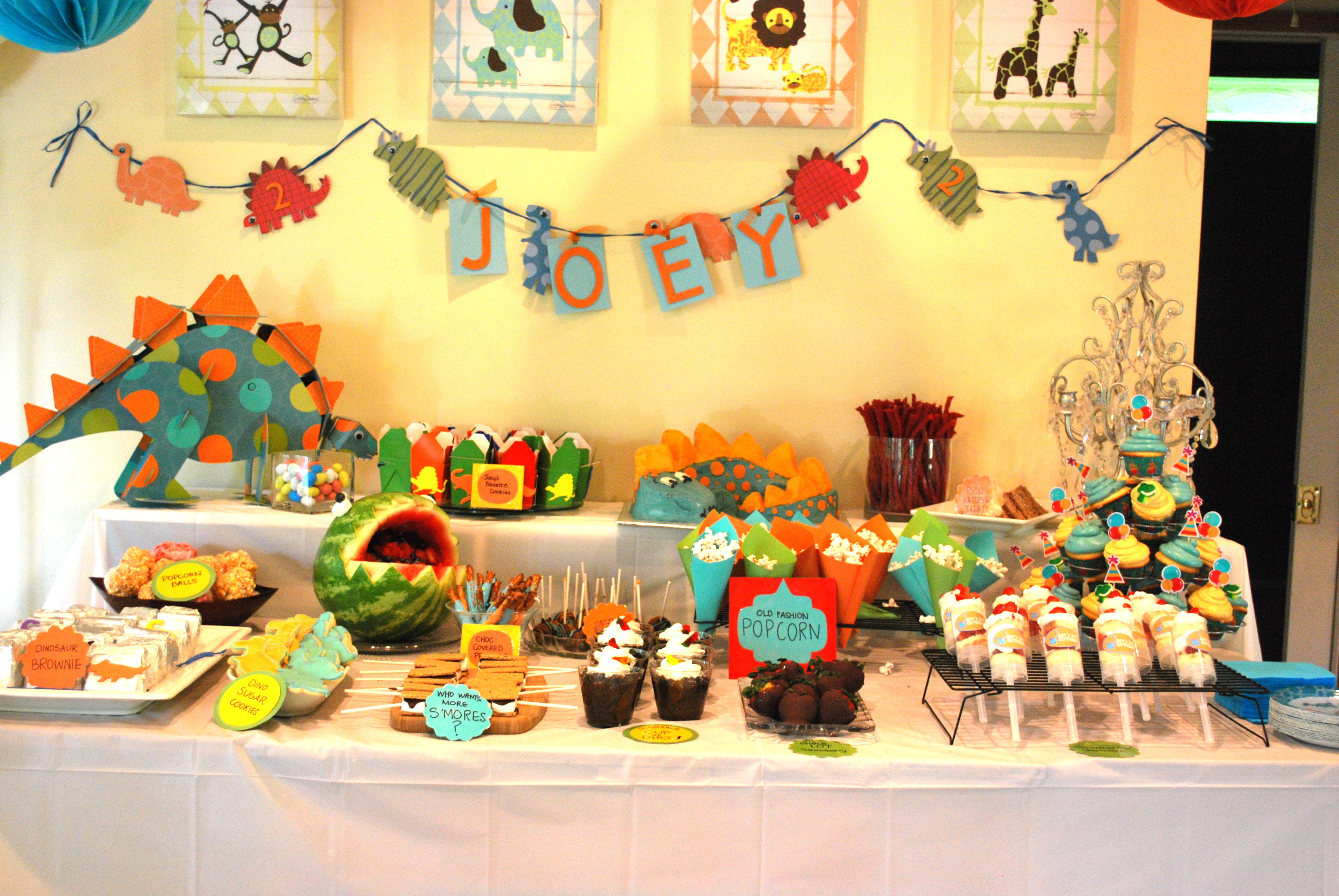 Best ideas about Dinosaur Birthday Party Decorations . Save or Pin Dinosaur Themed Birthday Party Now.