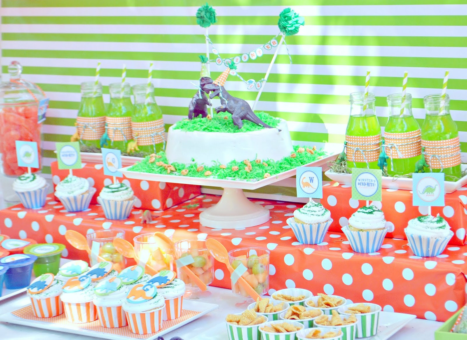 Best ideas about Dinosaur Birthday Party Decorations . Save or Pin Karo s Fun Land A Dino Riffic Birthday Party Now.