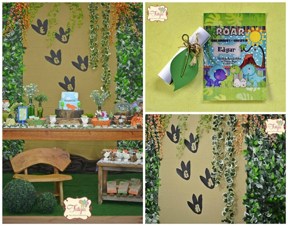 Best ideas about Dinosaur Birthday Party Decorations . Save or Pin 23 Roarsome Dinosaur Birthday Party Ideas Pretty My Party Now.