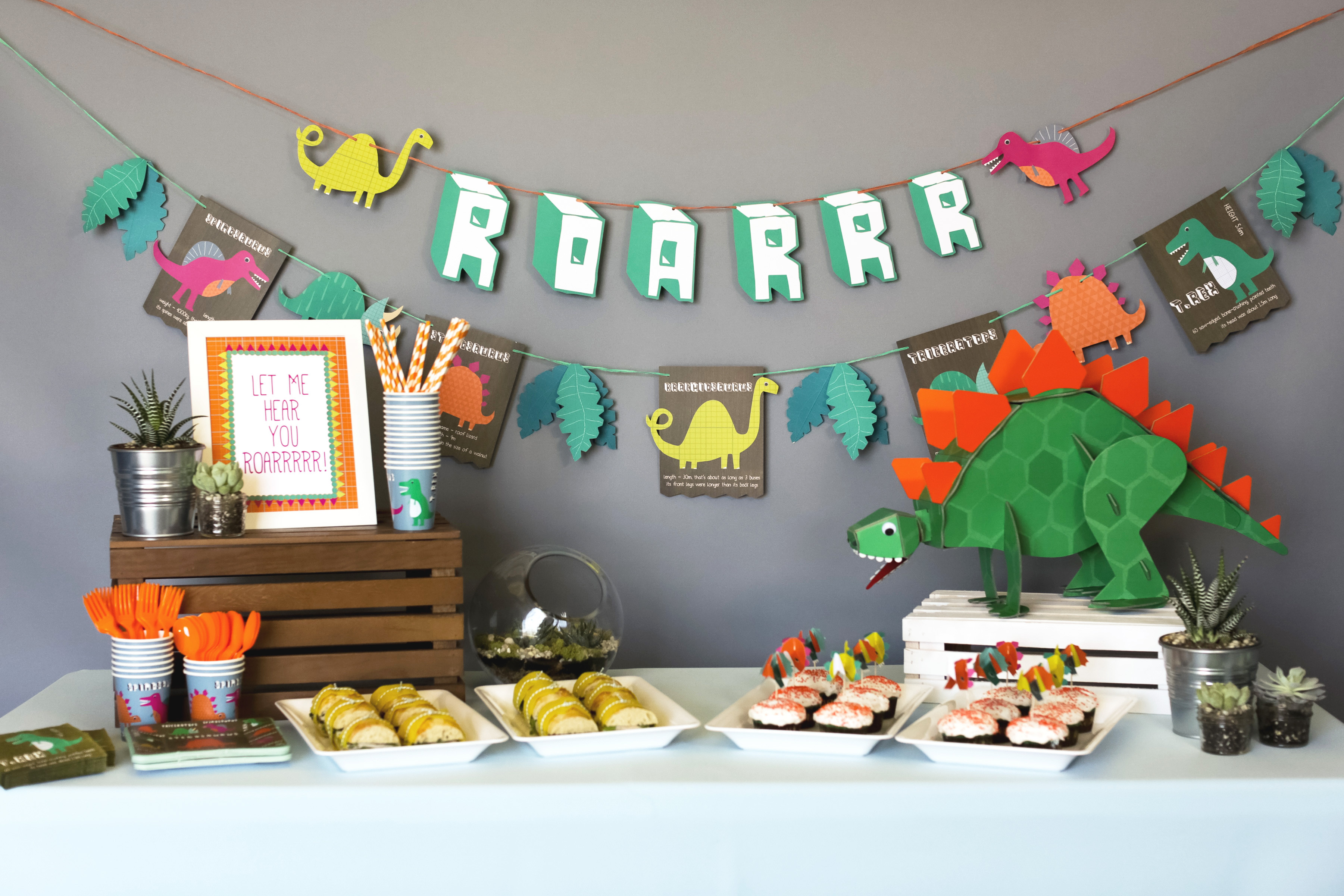 Best ideas about Dinosaur Birthday Party Decorations . Save or Pin How to Throw a Dino mite Dinosaur Party Evite Now.