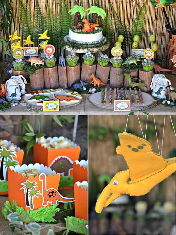 Best ideas about Dinosaur Birthday Party Decorations . Save or Pin Dinosaur Birthday Party Ideas & Printables Party Ideas Now.